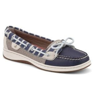 Sperry Women's Angelfish Breton Striped Boat Shoes